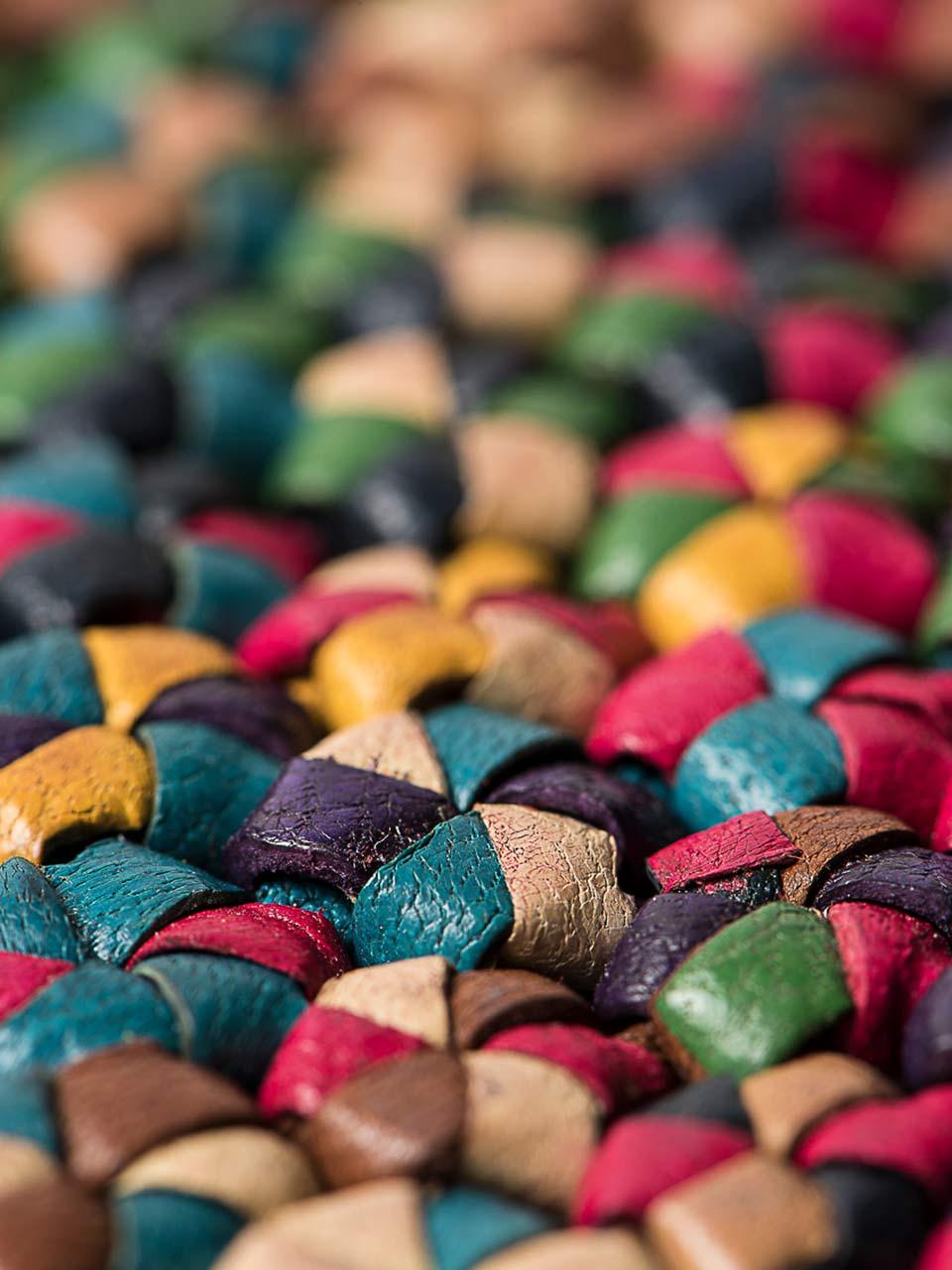 Archive de cuir au Lineapelle Fashion Studio