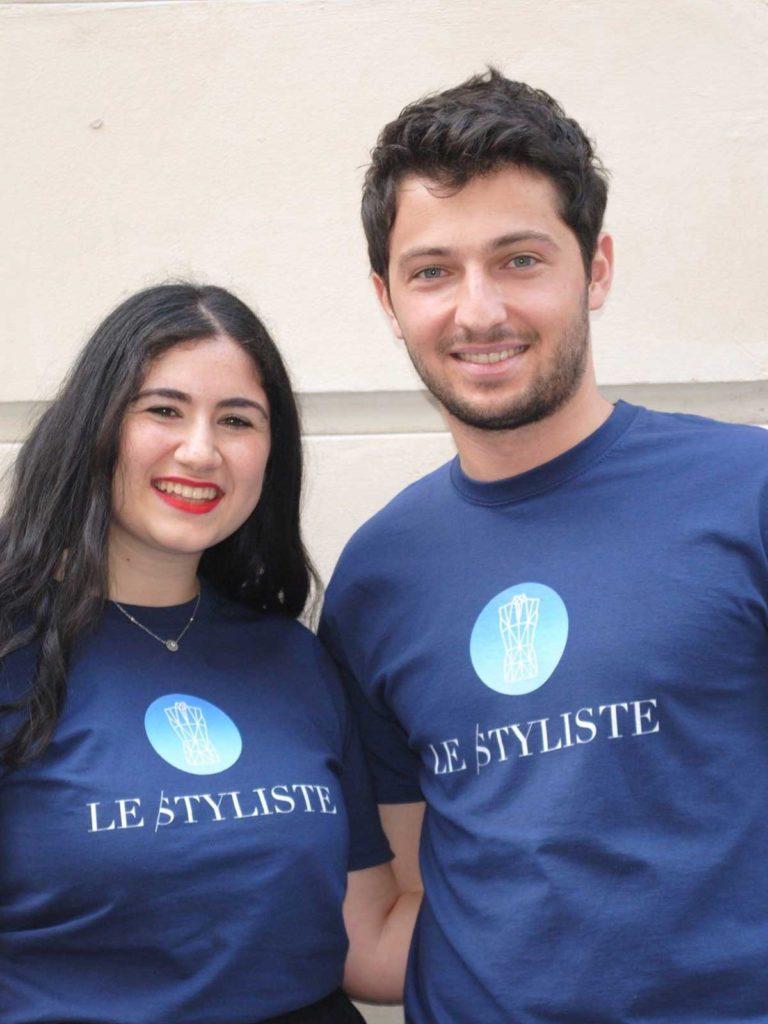Annaëlle Assaraf et Samuel Sadoun fondateurs de Le Styliste