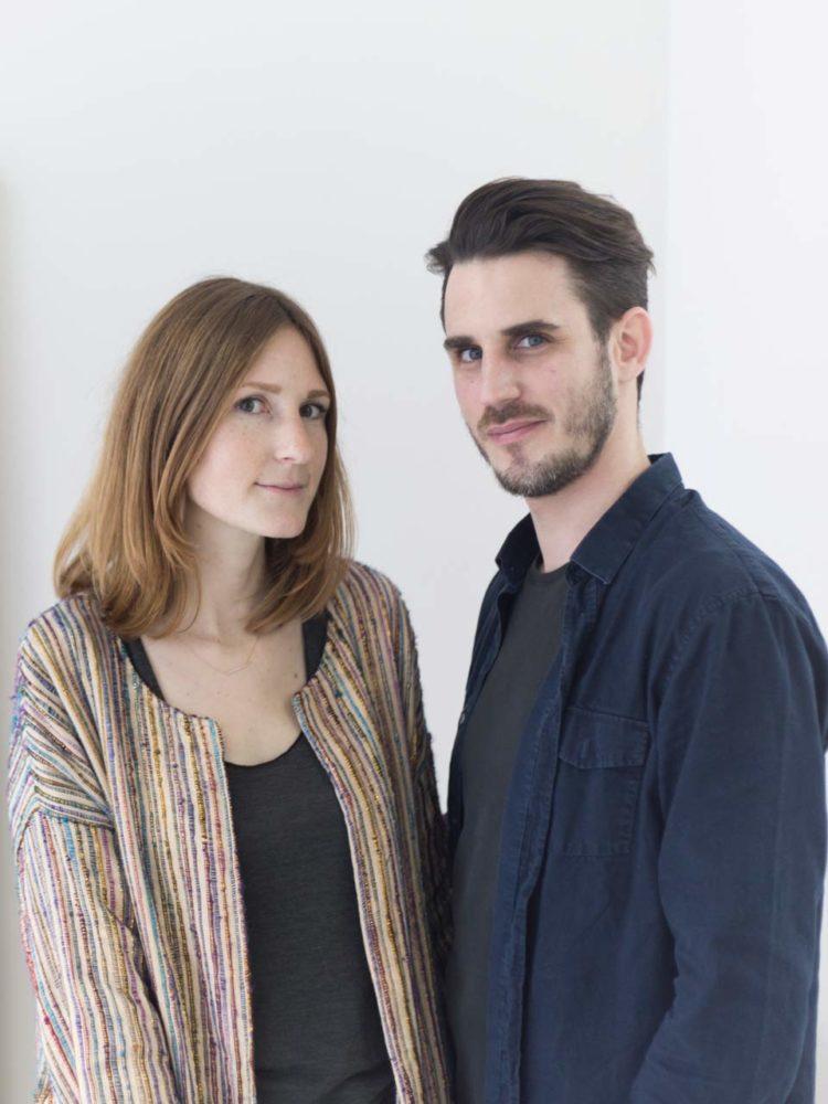 Les fondateurs de Craie, Camille Levai et Sébastien Germès