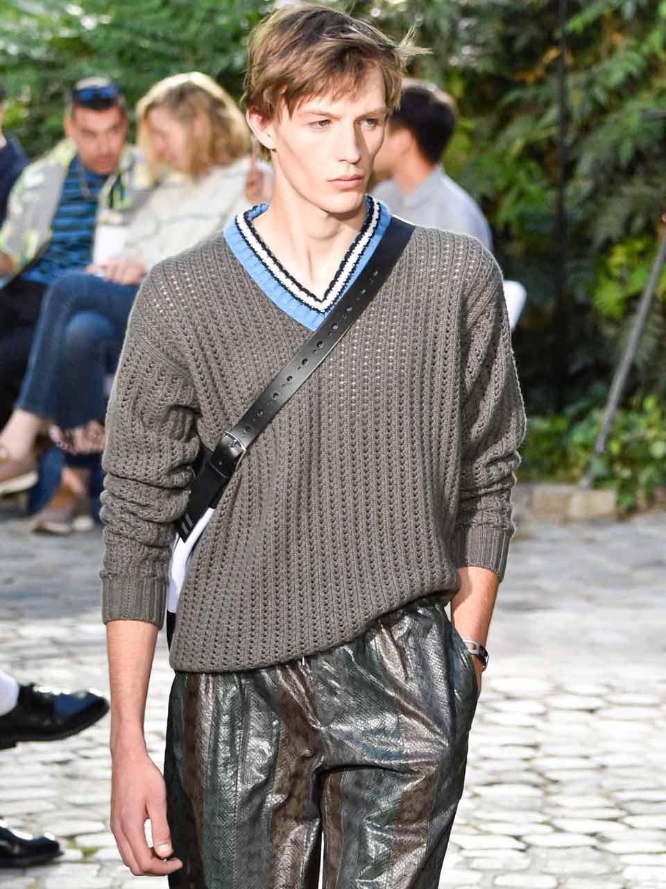 homme printemps-été 2019 Hermès