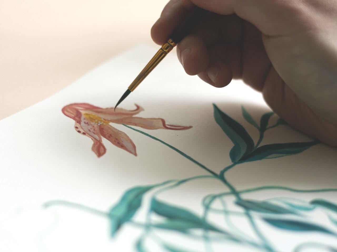 Dessin de l'illustratrice Léa Pivert