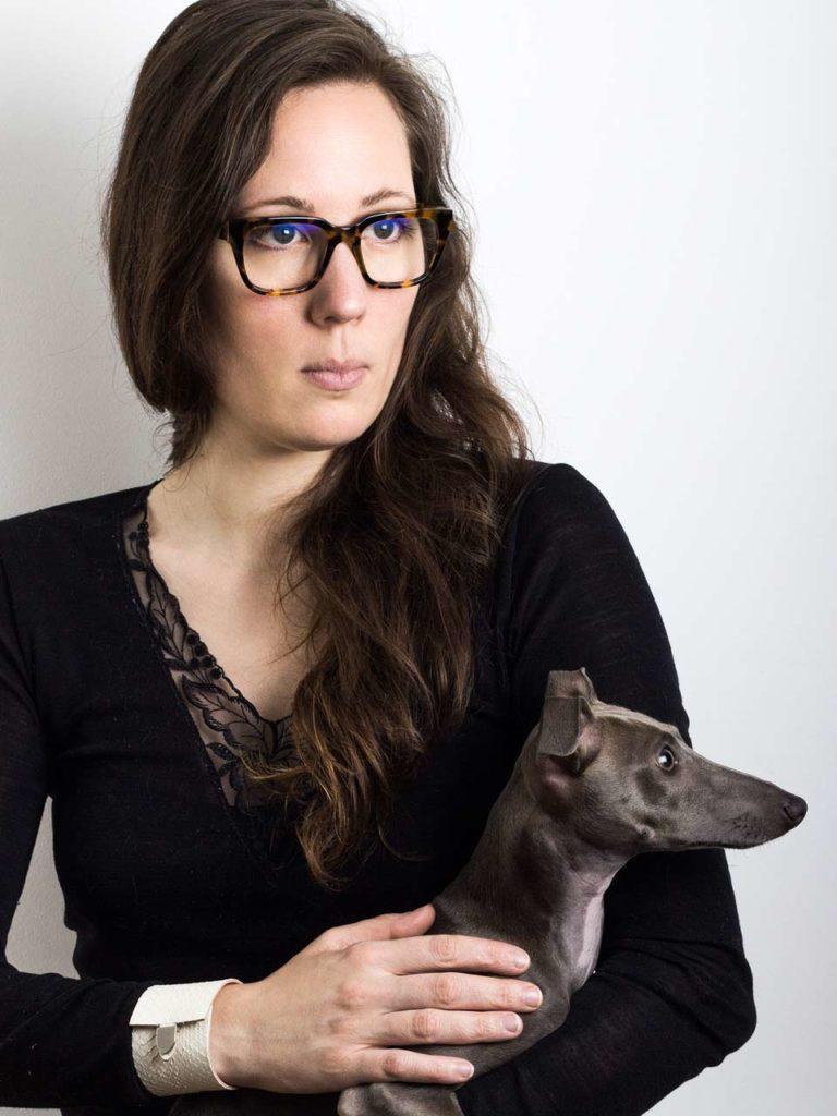 Karoline Bordas, fondatrice d'InCute