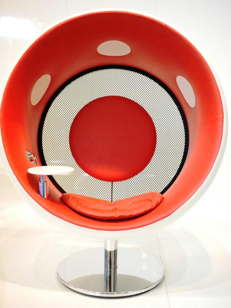 Sonic Chair First Class Edition en cuir, Designatics
