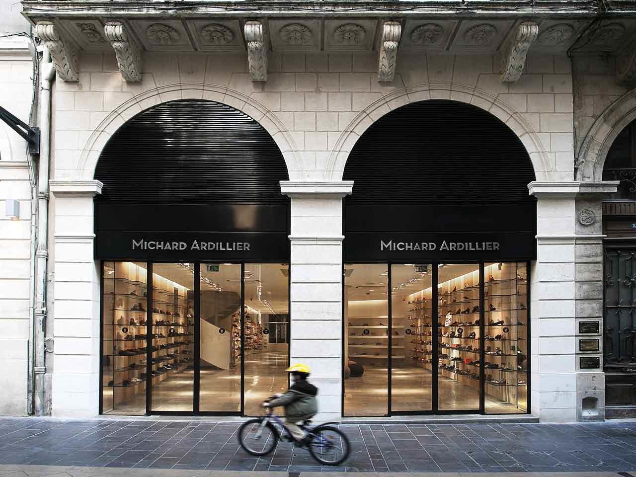 La boutique Michard Ardillier à Bordeaux