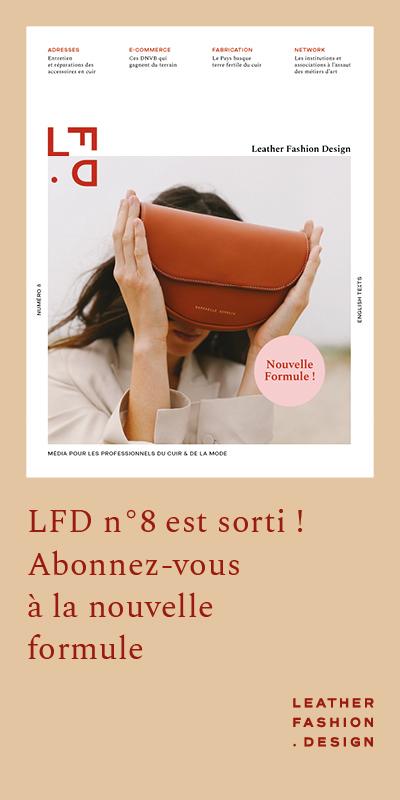 nouvelle formule magazine Leather Fashion Design