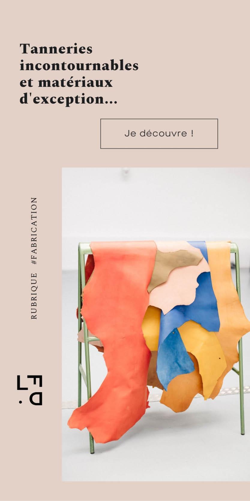 Leather Fashion Design - Fabrication