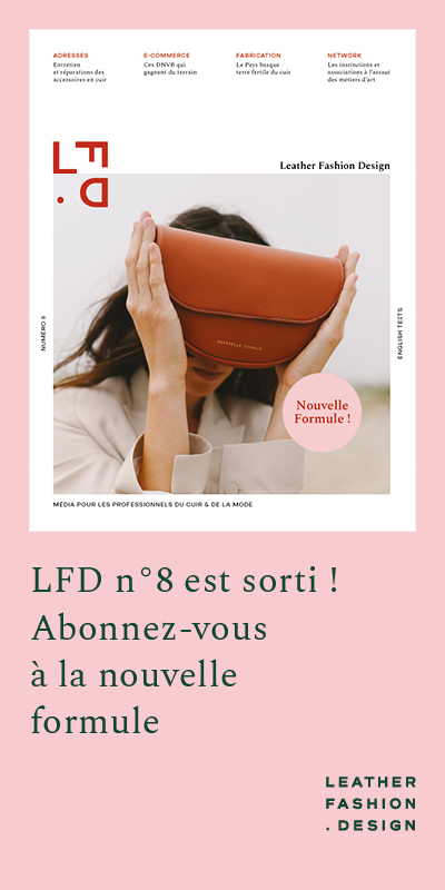 nouvelle formule magazine Leather Fashion Design