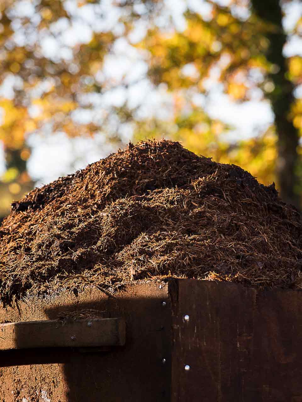Boues valorisées en compost