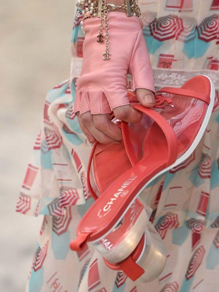 Défilé Chanel femme SS 2019.