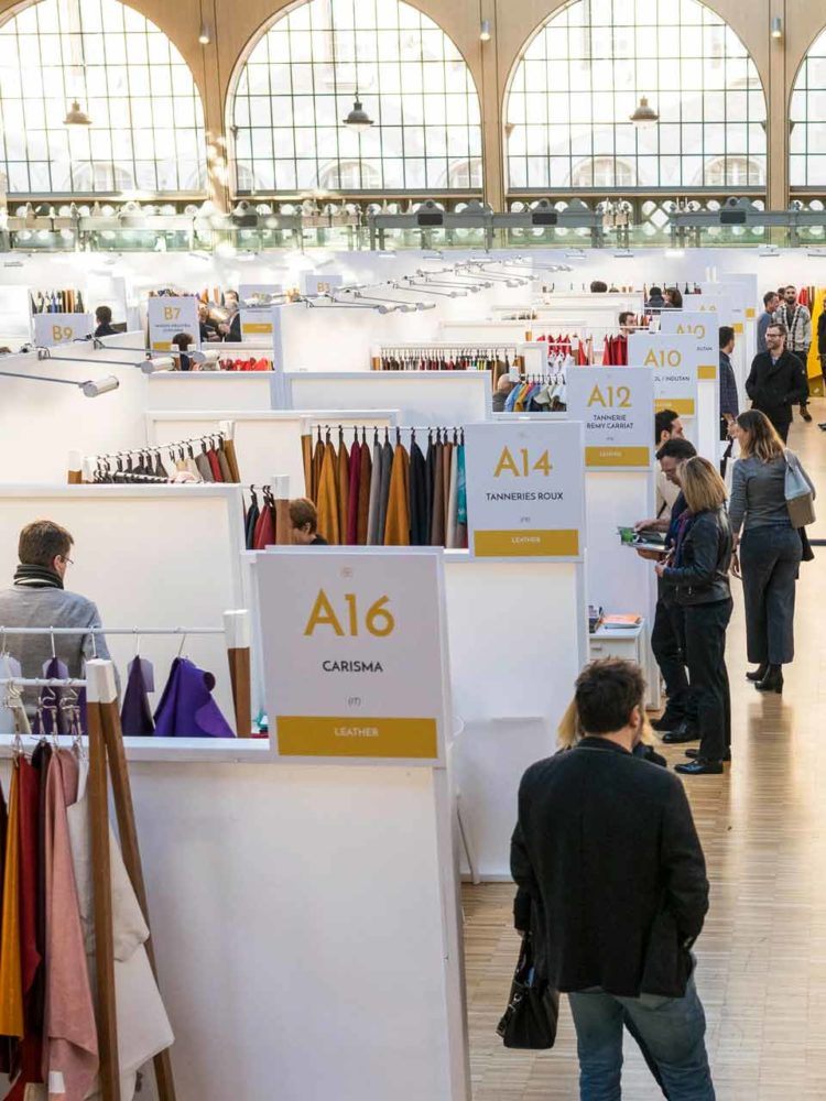 La 6ème édition de Blossom Première Vision, événement dédié aux acheteurs de matières créatives, luxe et haut de gamme, qui s'est déroulé les 12 et 13 décembre derniers au Carreau du Temple à Paris.