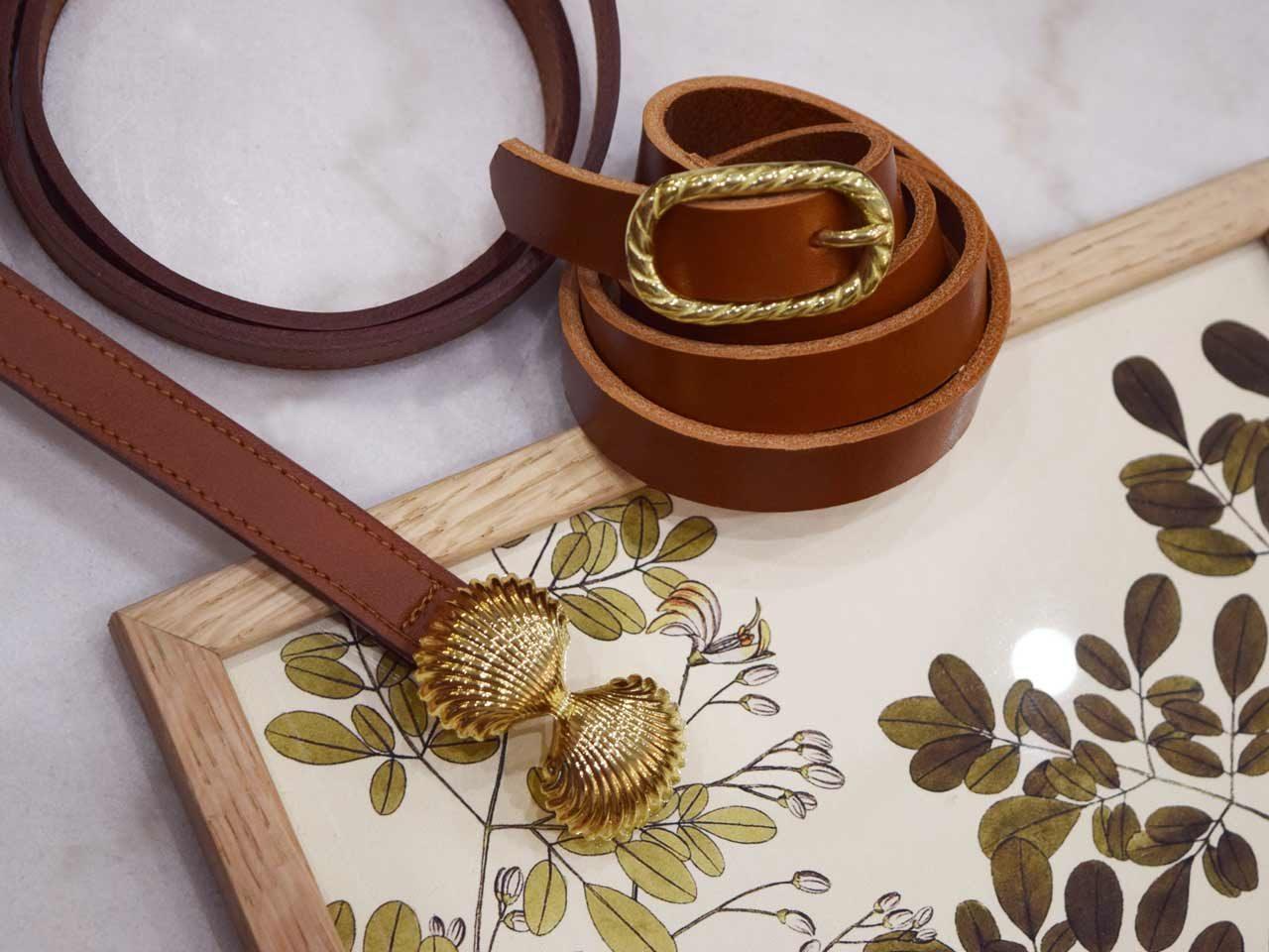 Fauvette Paris ceinture camel