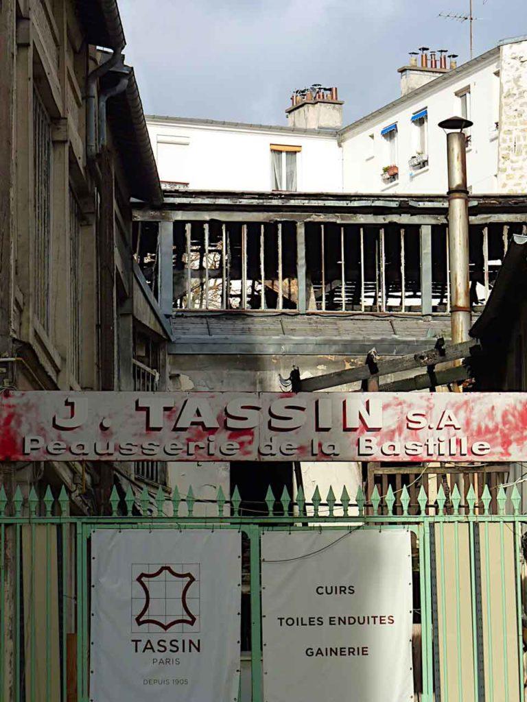 Atelier Tassin à Paris