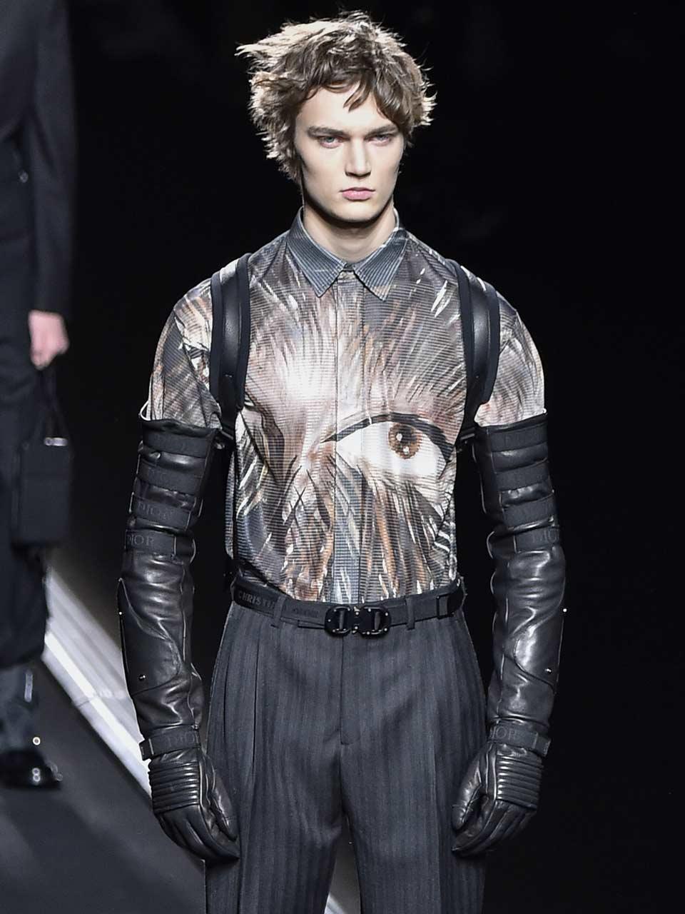 défilé homme accessoires FW1920 Dior