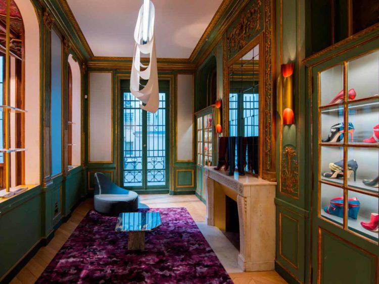 La boutique l'Etage Bettina a été conçue par l'agence d'architecture intérieure studioparisien