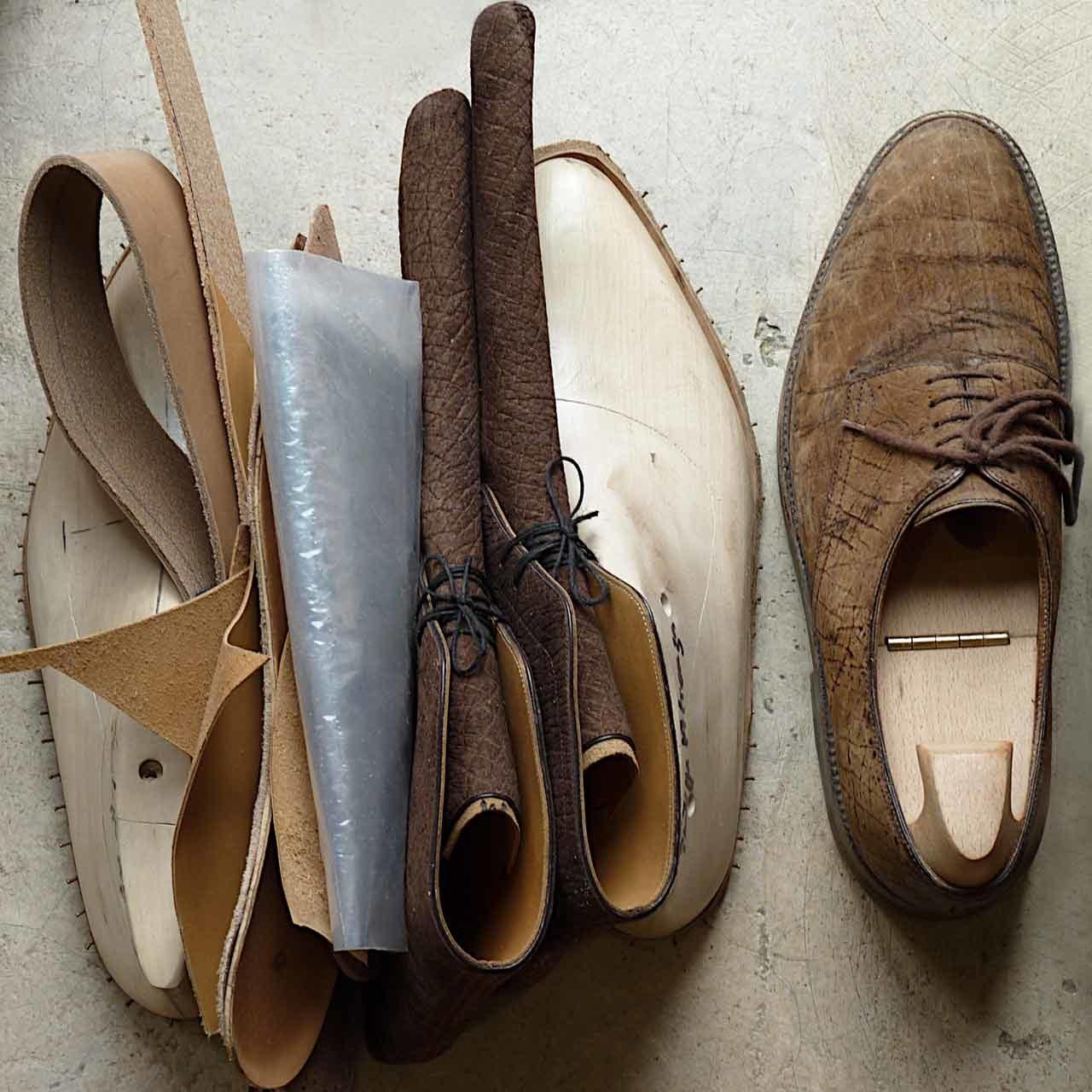 Atienza-souliers-préparation