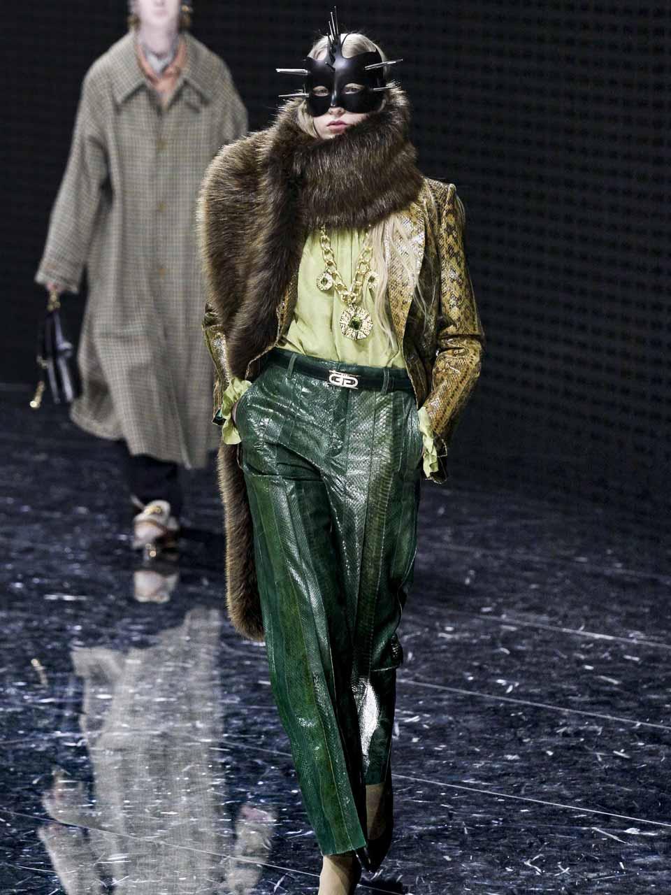 Défilé Gucci automne-hiver 19/20.