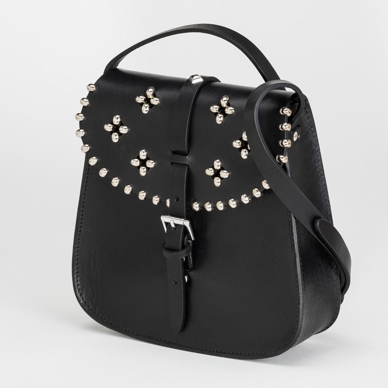 Sac rock cuir Fabrice Poincelet