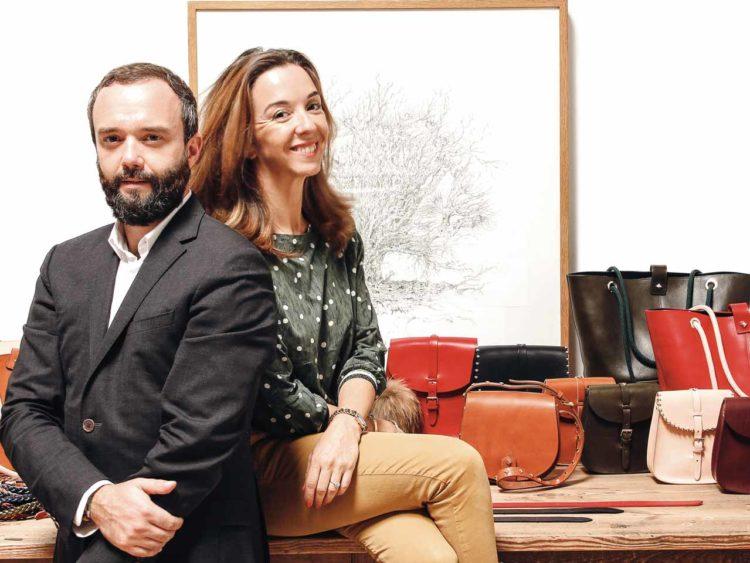 Flavien et Camille Herbert, à la tête de la marque Herbert Frère Sœur.