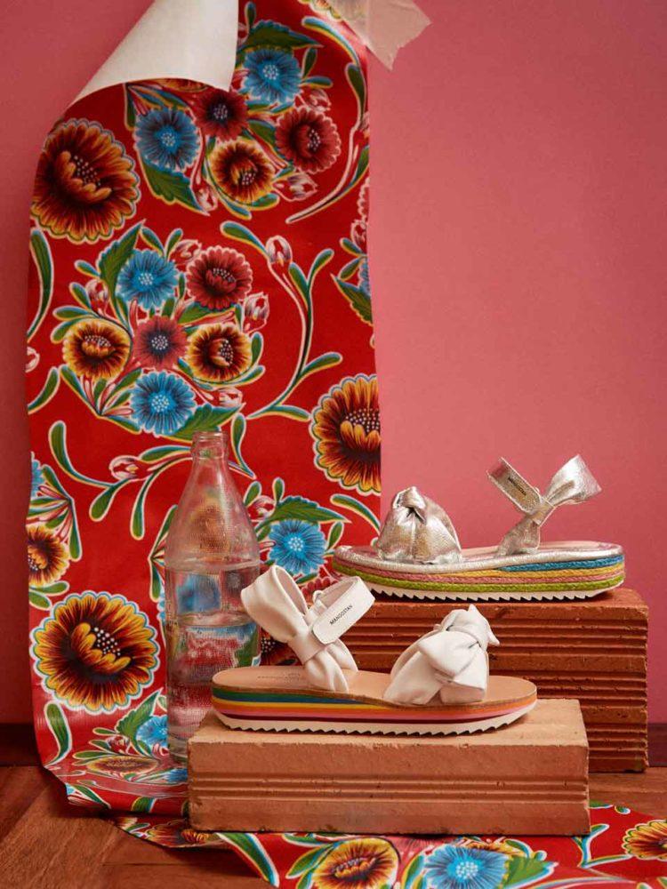 Sandales Acerola blanches Maison Mangostan