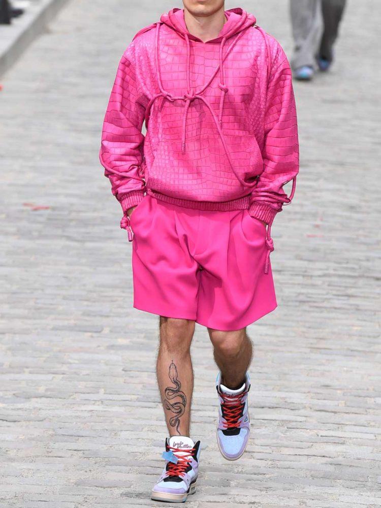 Défilé Louis Vuitton printemps-été 2020.