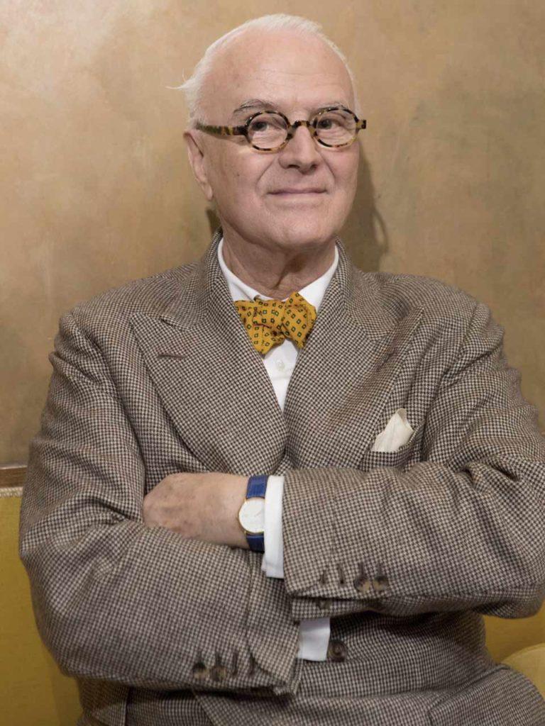 Manolo Blahnik, chausseur star du soulier couture - Photo © Milo Osborn.