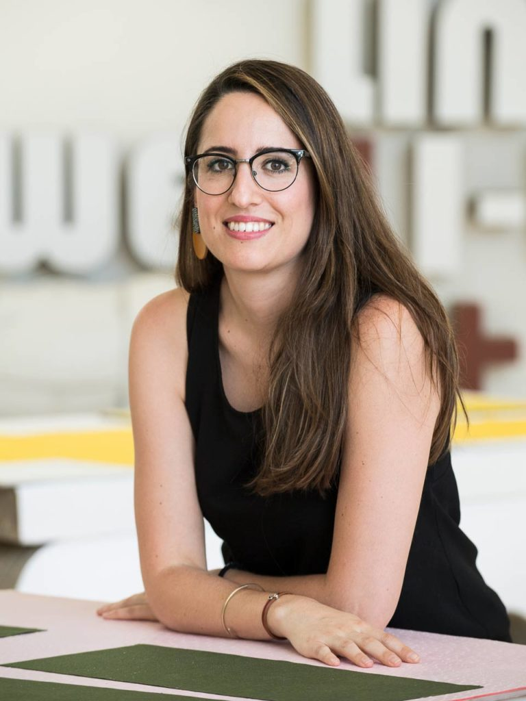María Monléon Capitán, fondatrice de Monka Design Studio, basé à Ubrique