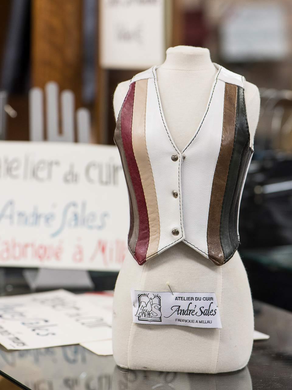 Vêtement cuir Millau