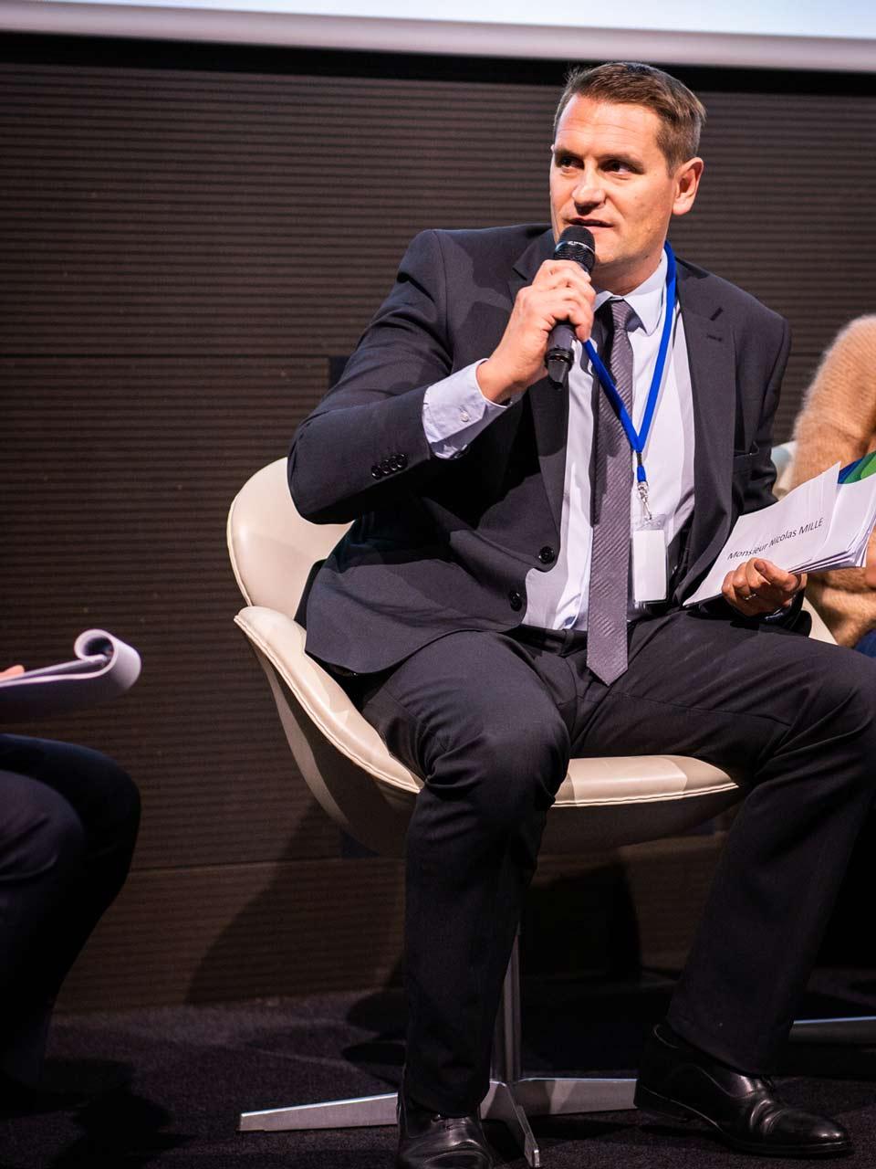 Nicolas Mille, Président de Gaston Mille