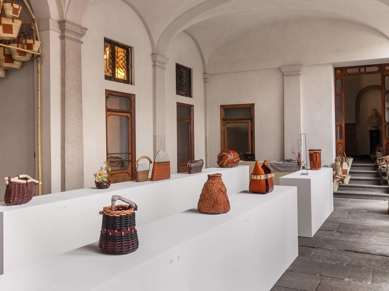 Exposition Loewe Baskets Milan Design Week