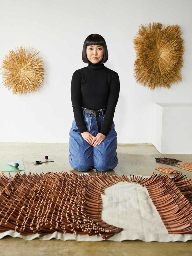 Collaboration avec l'artiste japonaise Asako Sato/Arko