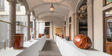 Exposition Loewe Baskets Milan Design Week FondationLoewe