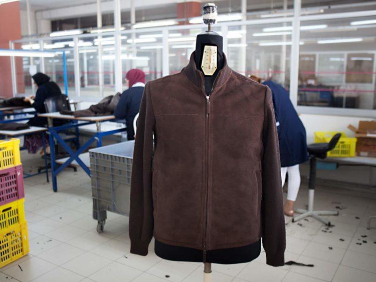 KANTAOUI fashion fabricant cuir vetement