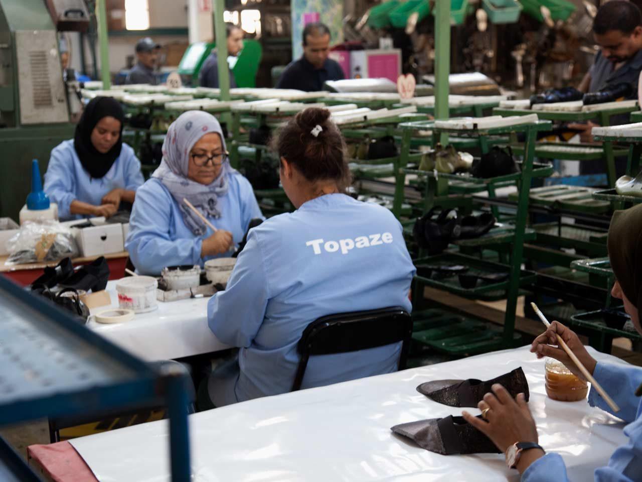 Topaze fabricant chaussure Tunisie