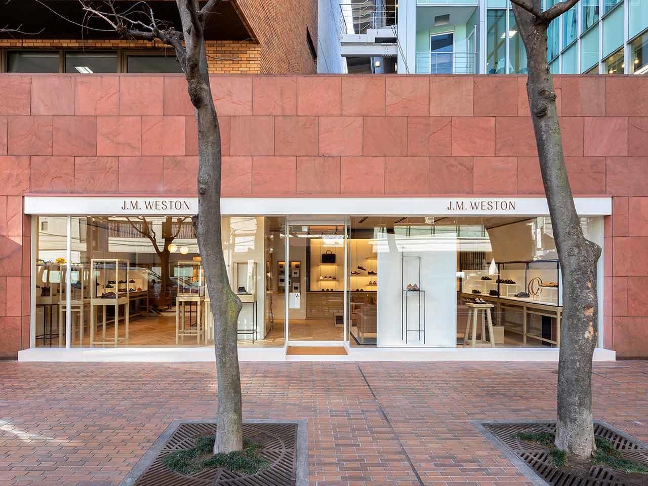 J.M. Weston boutique Tokyo Aoyama