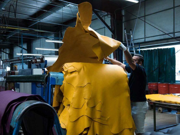 Les Tanneries Roux contrôlent la provenance des peaux et de s'assurent de leur traçabilité totale.