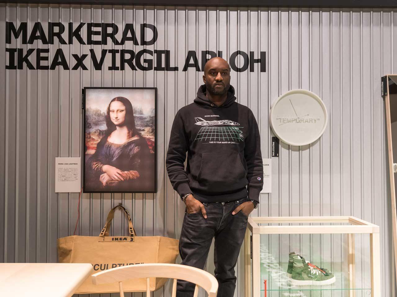 Markerad, Ikea x Virgil Abloh.