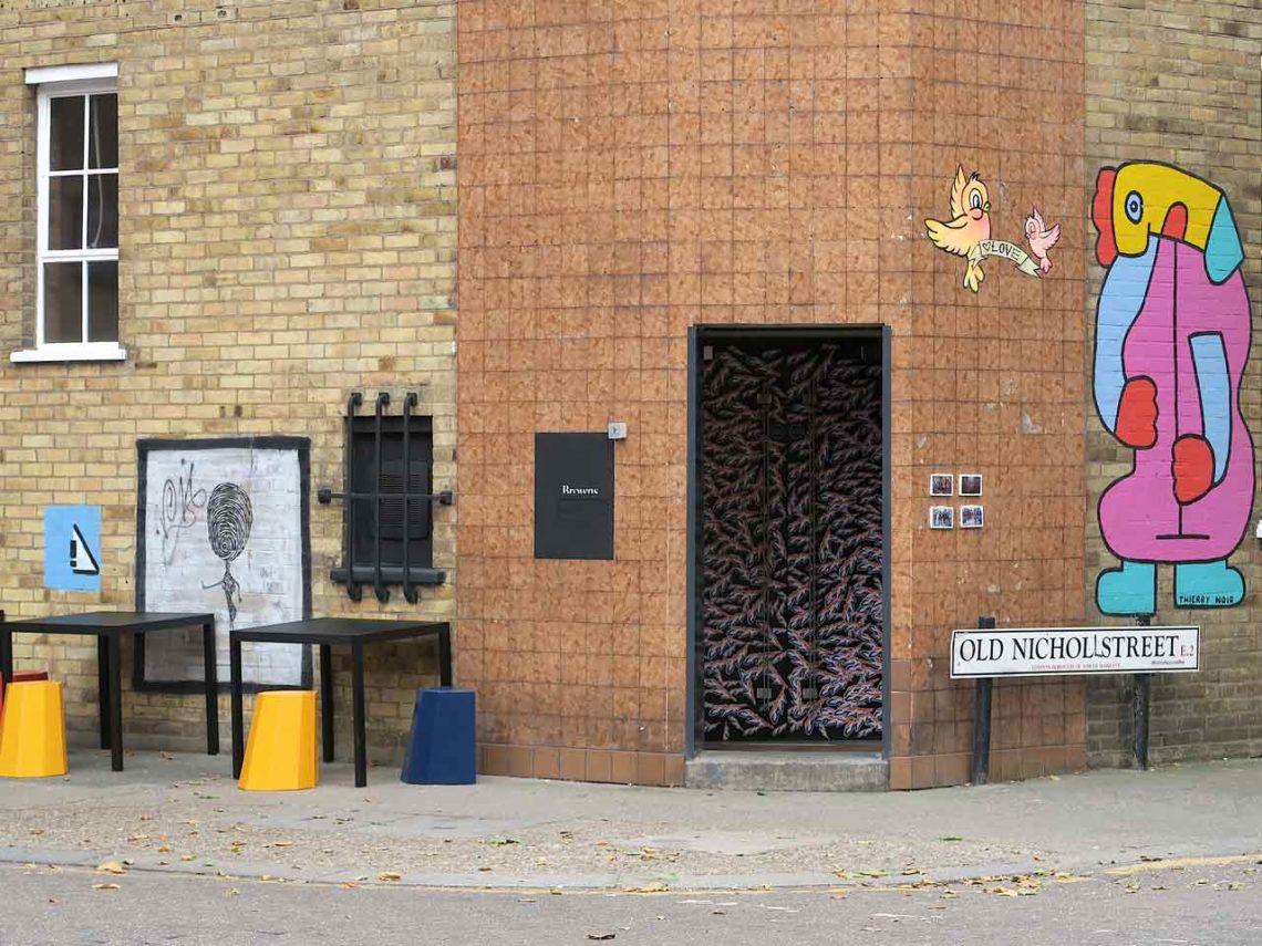 Browns concept-store retail Londres Shoreditch