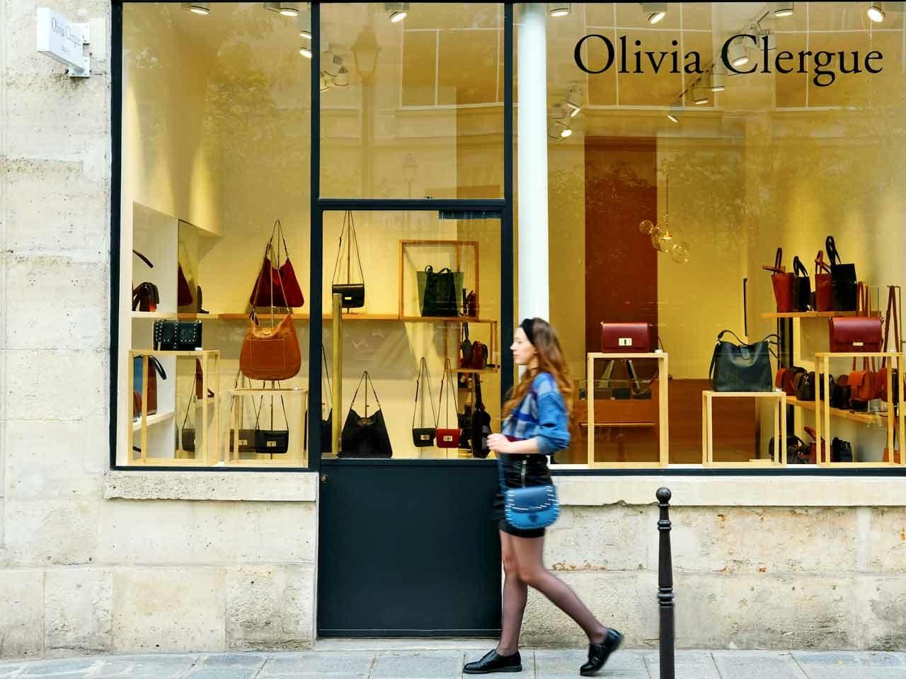Olivia Clergue boutique Paris
