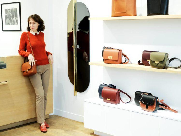 Portrait d'Olivia Clergue dans sa boutique à Paris