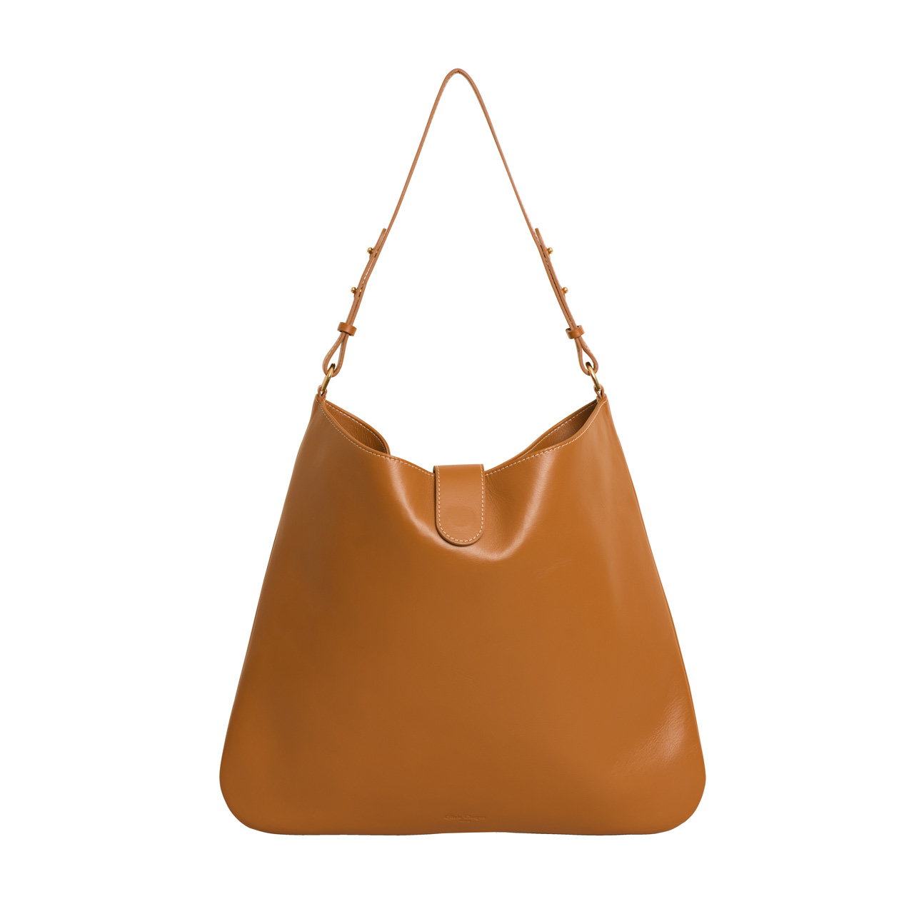 Olivia Clergue sac Iris cognac cuir
