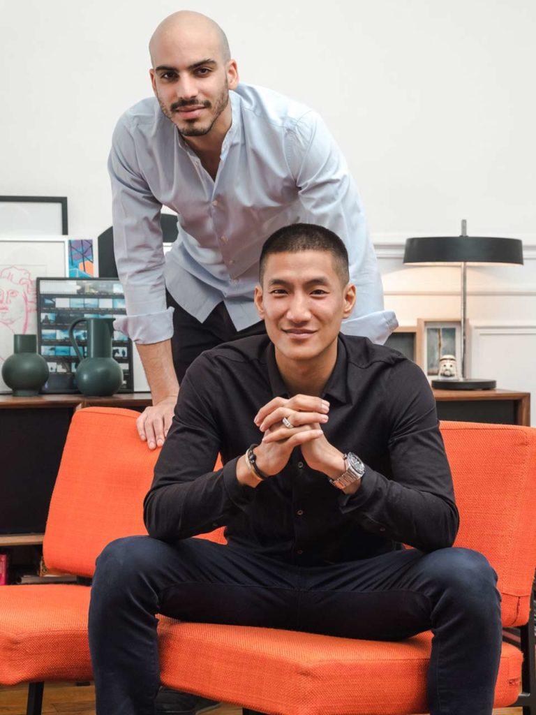 Phuc Vo Van et David Cingala Le Trapeze