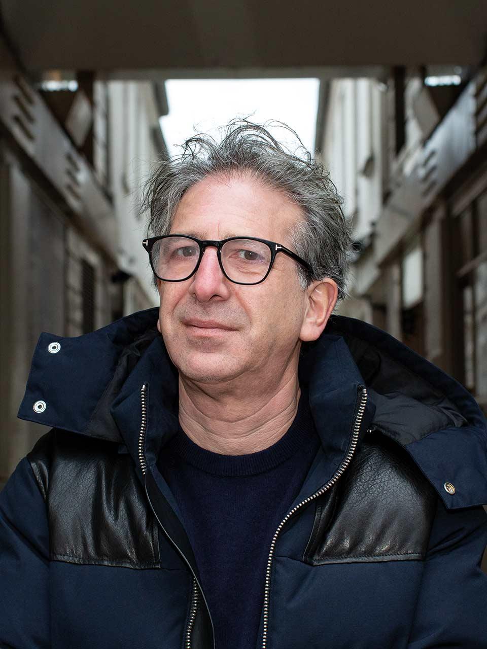 Stéphane Mordowicz détaillant chausseur