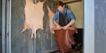 Mégisserie de cuir de chevreau Billy Tannery