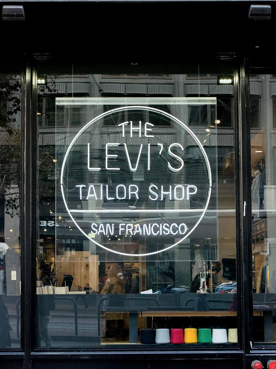 Levis personnalisation Tailor Shop