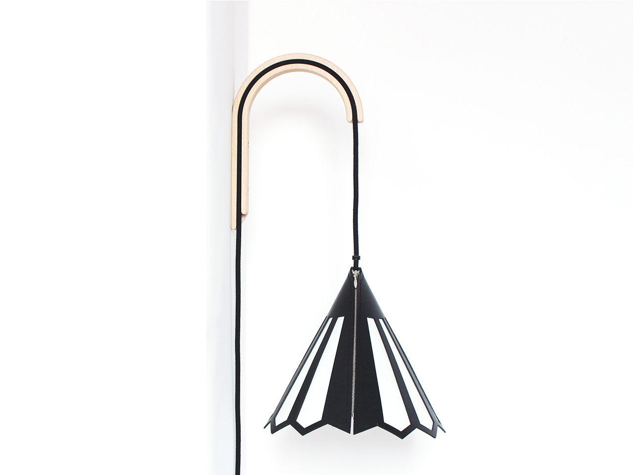 Lulé Studio Pan luminaire cuir