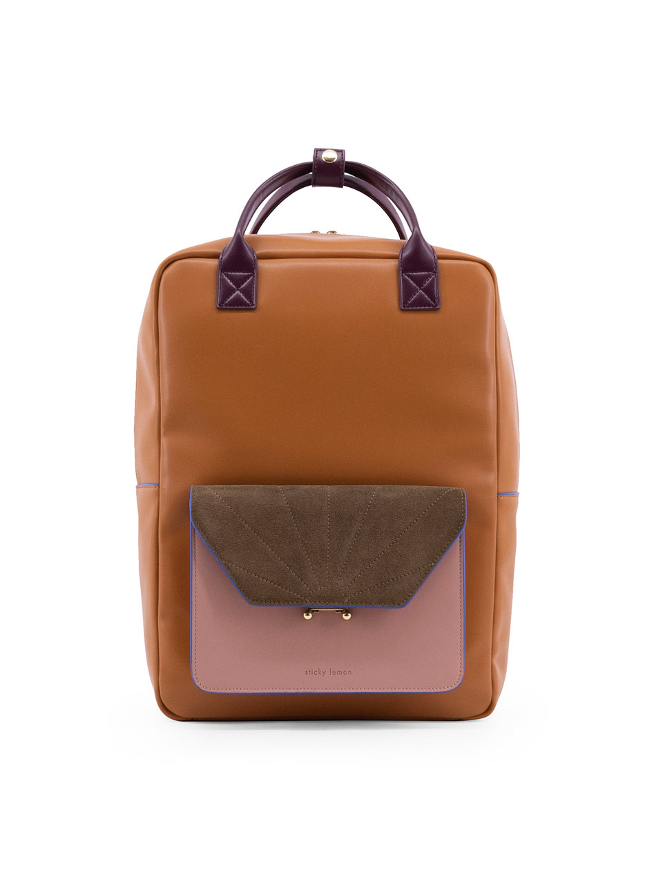 The Sticky Sis Club backpack coloré cider-brown