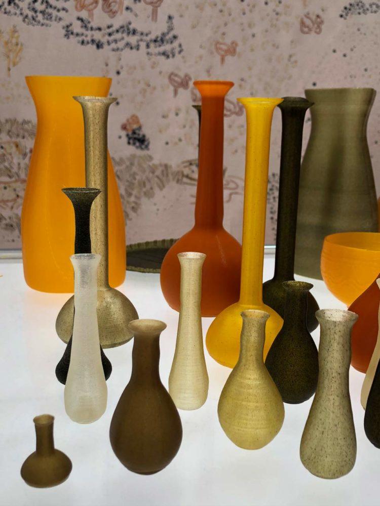 Atelier Luma Algae projet vases