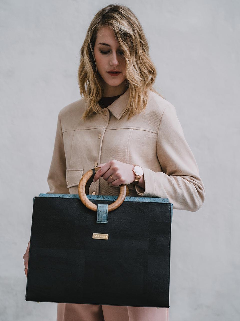 Bag Affair Bossy Black Green