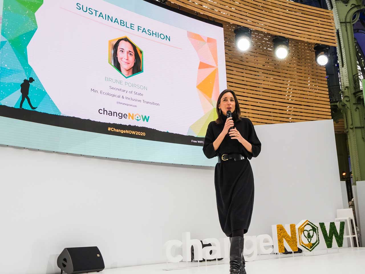 Brune Poirson secretaire etat transition ecologique