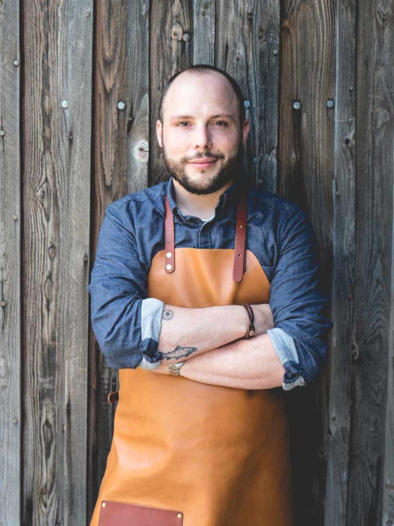 Damien Béal artisan cuir bois